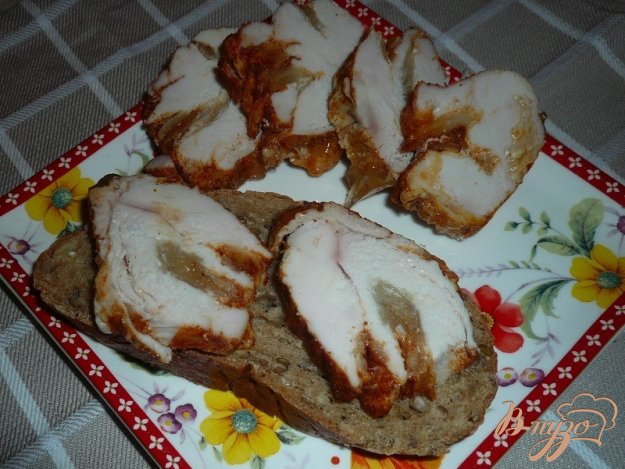 фото рецепта: Пастрома с яблоком