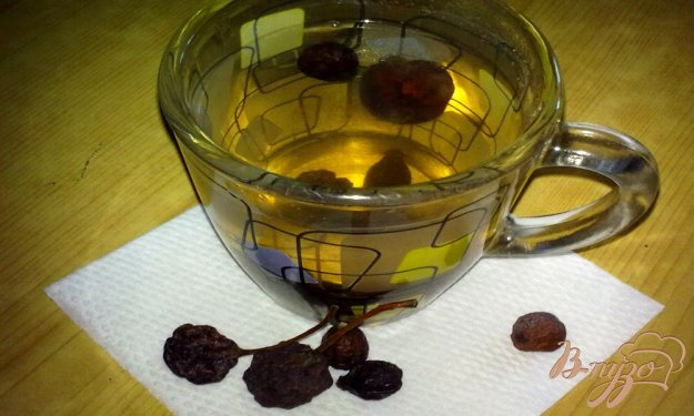 Рецепт Компот из сушеных груши и шиповника