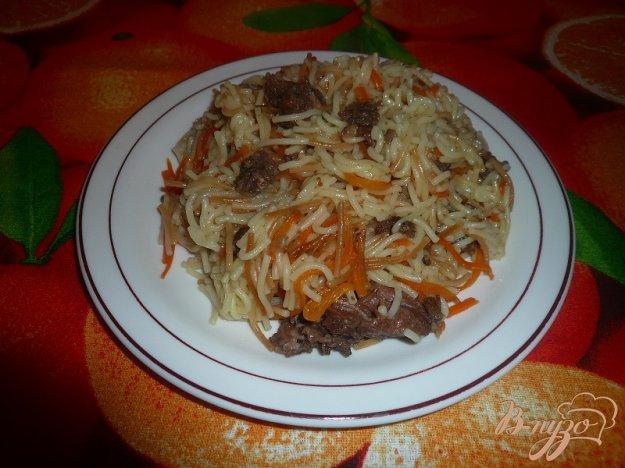 Рецепт Жареная вермишель с тушёнкой