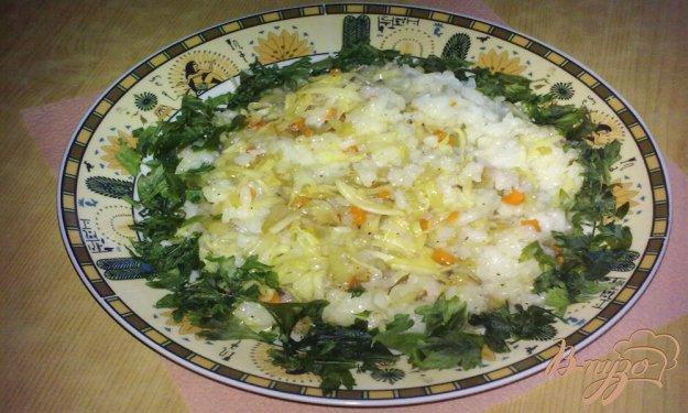 Рецепт Жареный рис с овощами по-китайски
