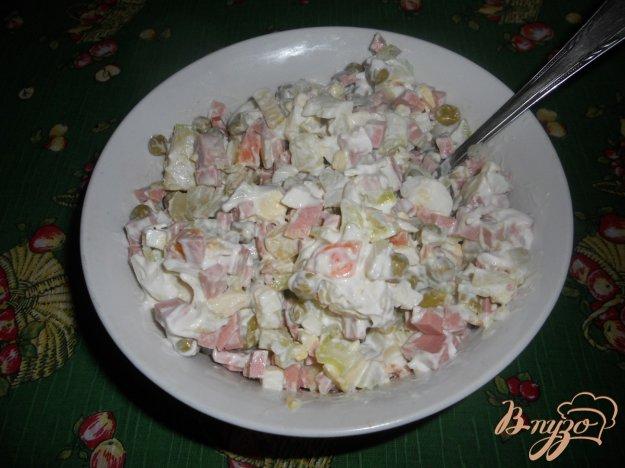 фото рецепта: Салат зимний с сельдереем