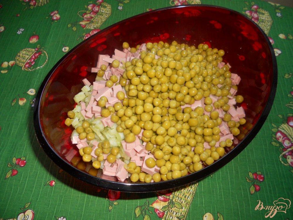 Фото приготовление рецепта: Салат зимний с сельдереем шаг №7