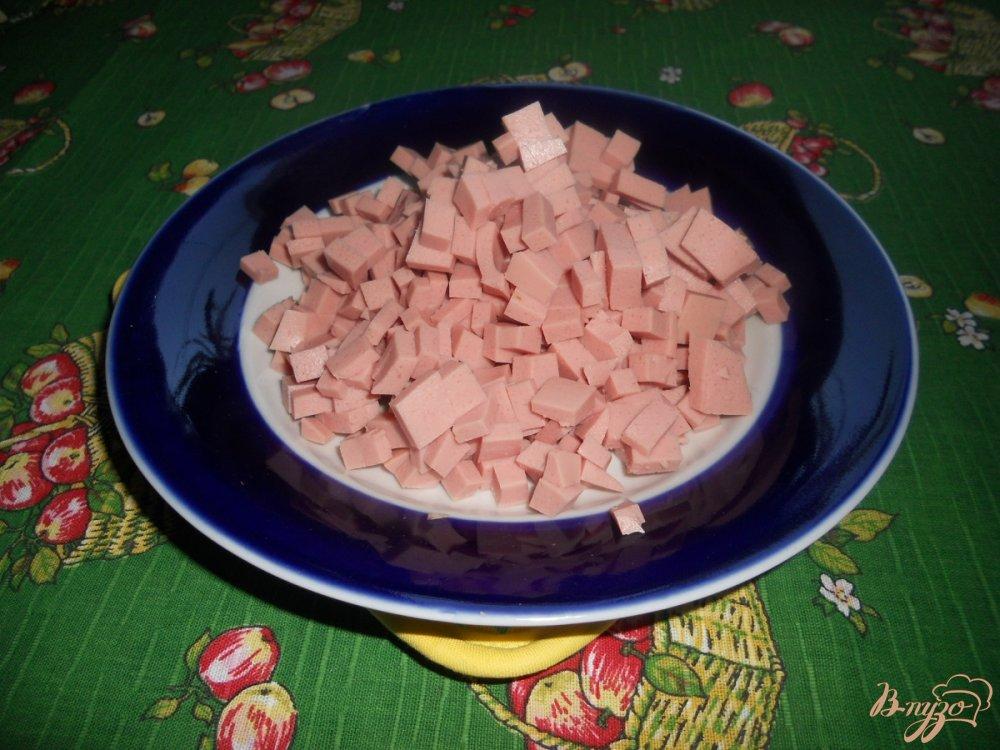 Фото приготовление рецепта: Салат зимний с сельдереем шаг №6