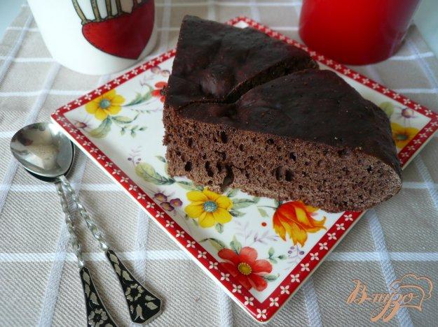 Рецепт Простой кекс с какао в мультиварке