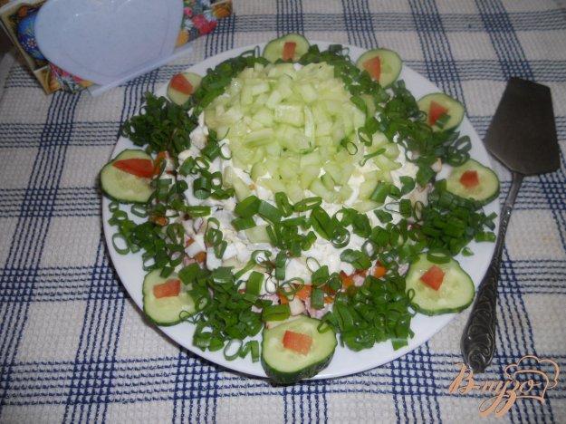 Рецепт Весенний слоеный салатик
