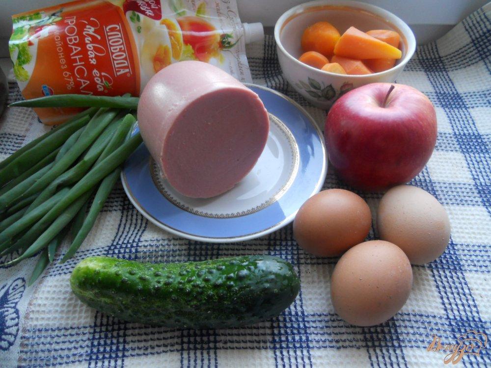 Фото приготовление рецепта: Весенний слоеный салатик шаг №1