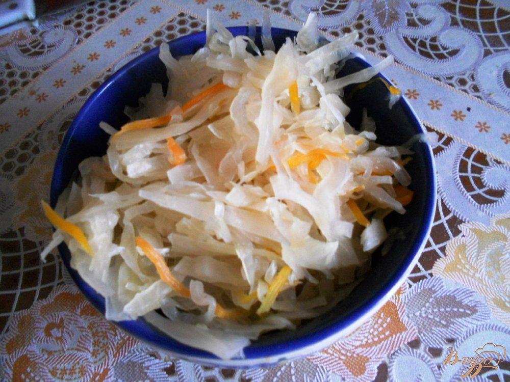 Фото приготовление рецепта: Щи зимние из квашеной капусты шаг №1
