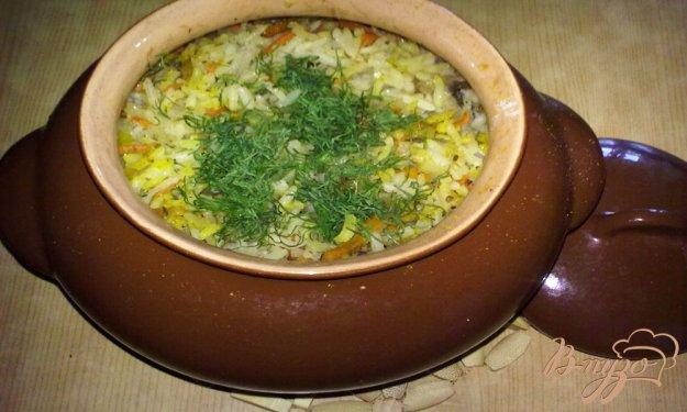 Рецепт Рис с грибами по-болгарски