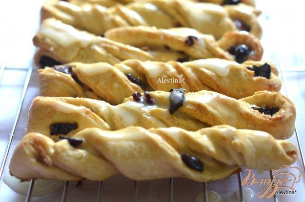 Рецепт Вертушки с сухофруктами и орехами