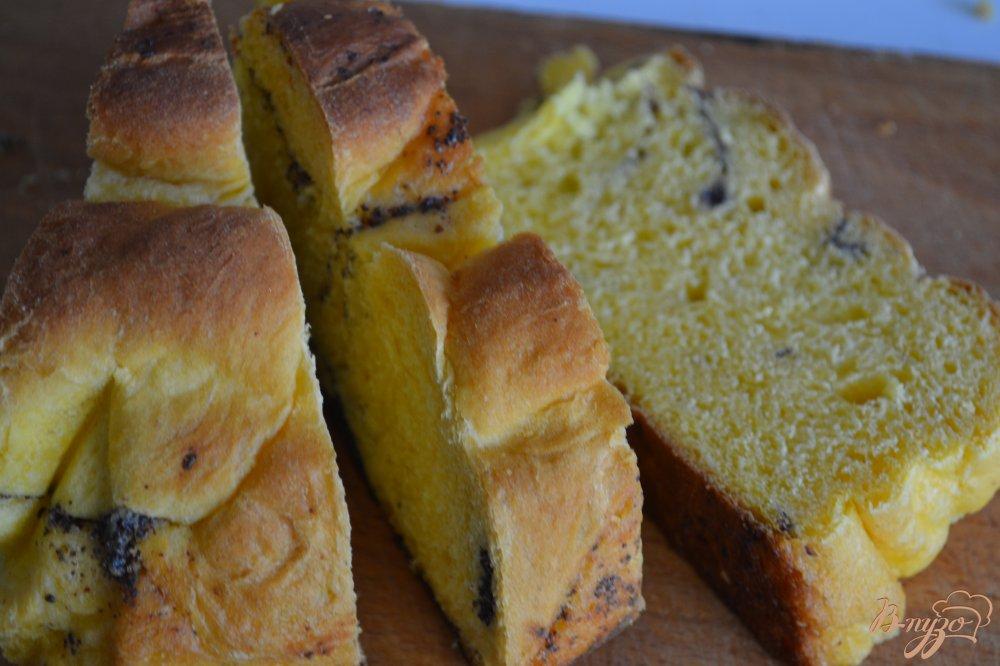 Фото приготовление рецепта: Ромовые гренки из сдобной булочки шаг №1