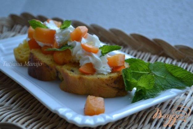 фото рецепта: Ромовые гренки из сдобной булочки
