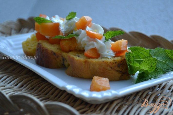 Фото приготовление рецепта: Ромовые гренки из сдобной булочки шаг №4
