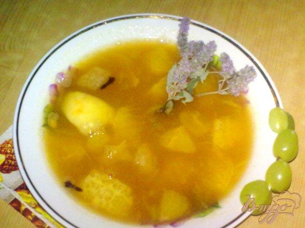 фото рецепта: Суп из цитрусовых