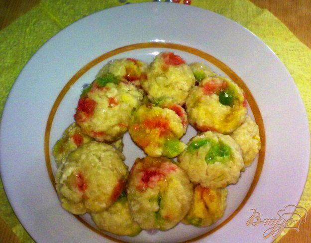 Рецепт Печенье с леденцами
