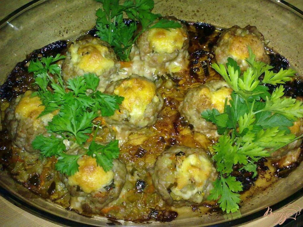 Фото приготовление рецепта: Мясные гнезда шаг №6