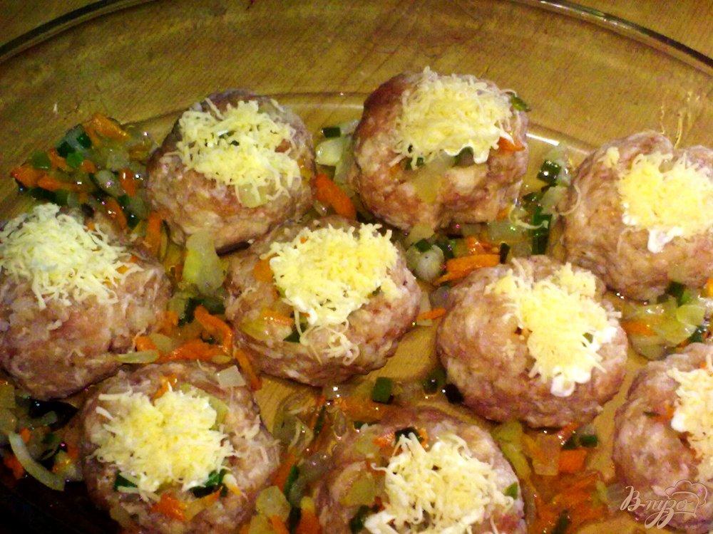 Фото приготовление рецепта: Мясные гнезда шаг №5