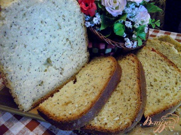 Рецепт Сладкий маковый хлеб к чаю