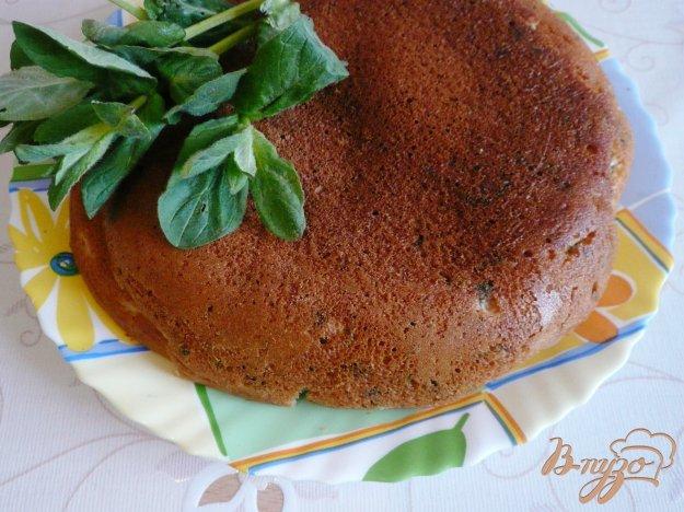 Рецепт Кефирный пирог со свежей мятой