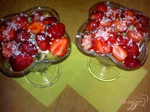Рецепт Десерт творожно-ягодный