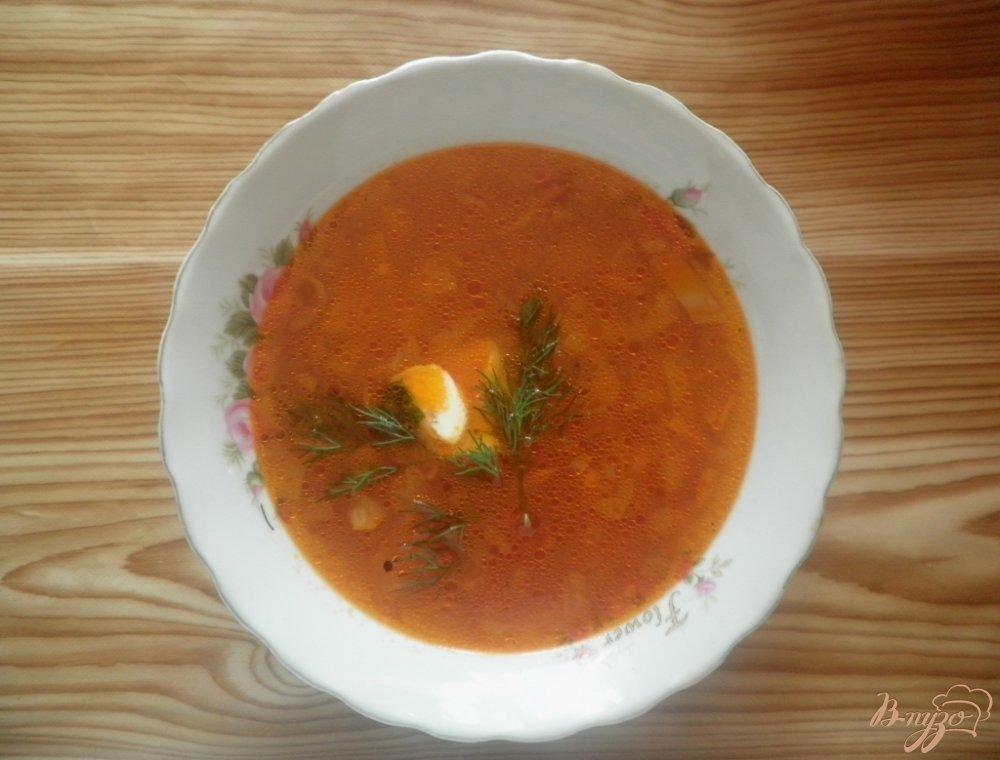 Фото приготовление рецепта: Гречневый суп шаг №6