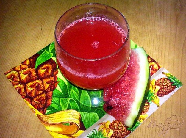фото рецепта: Арбузно-имбирный напиток