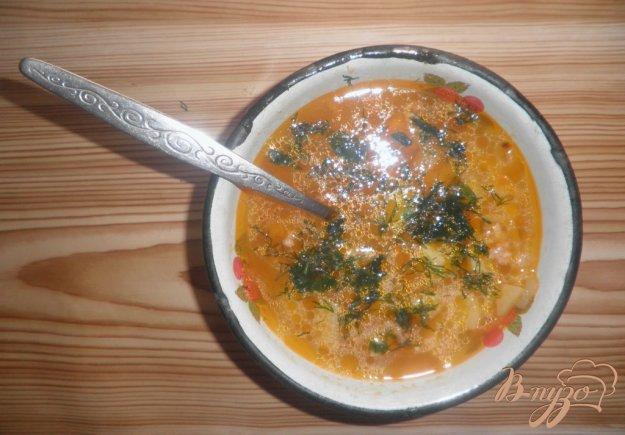 Рецепт Картофельный суп с фрикадельками