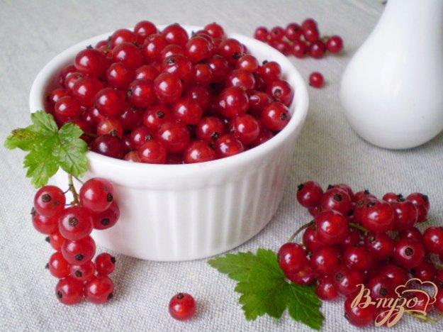 Рецепт Заморозка красной смородины