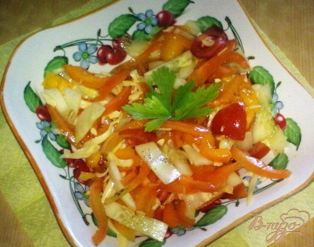 Салат китайски пошаговый