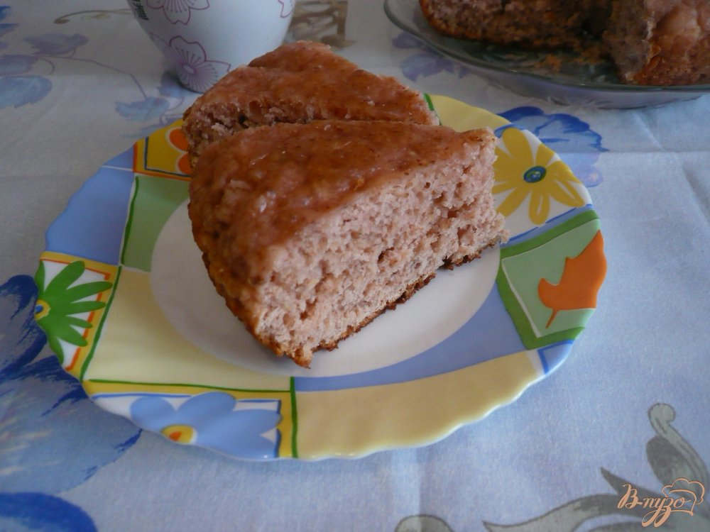 Фото приготовление рецепта: Пирог на киселе шаг №7