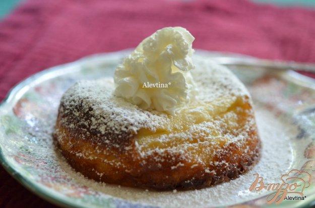 Рецепт Десерт с рикоттой и свежей ягодой