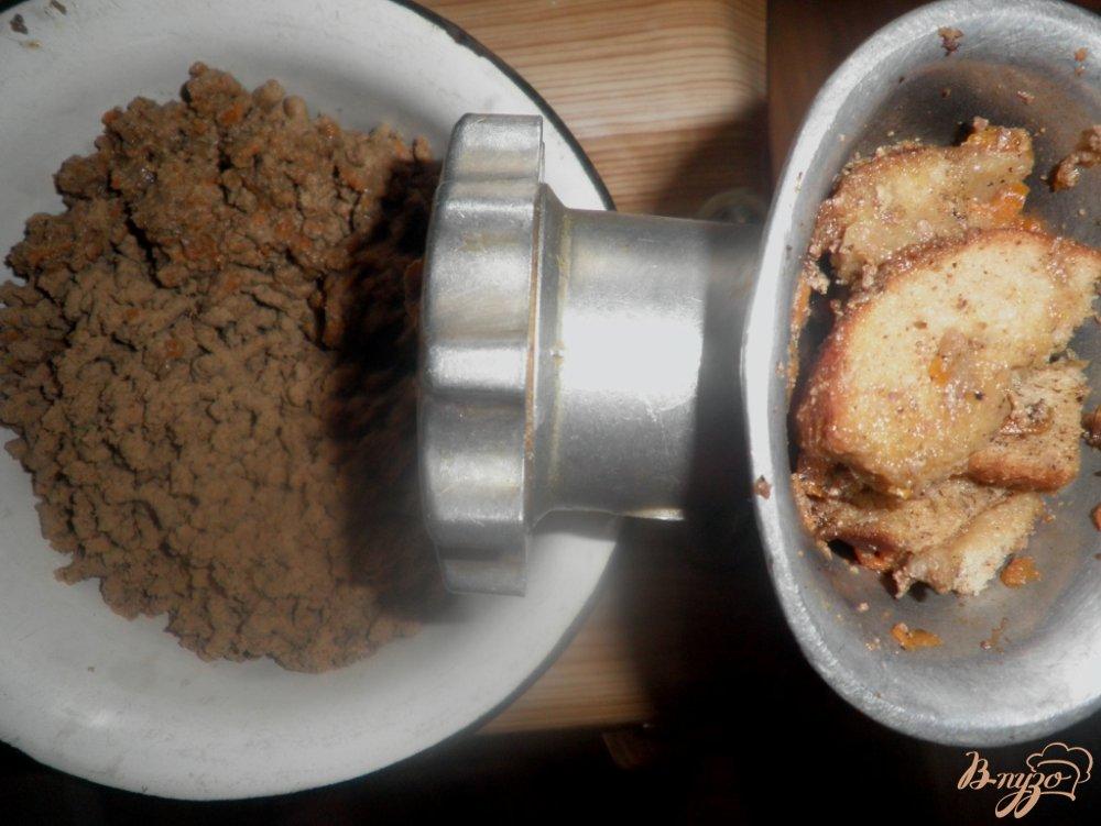 Фото приготовление рецепта: Сырно-печеночный рулет шаг №5