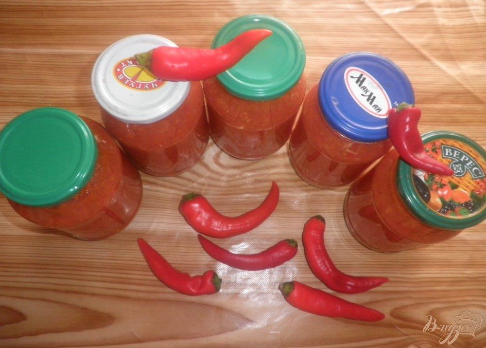 Фото приготовление рецепта: Аджика Огонек шаг №5