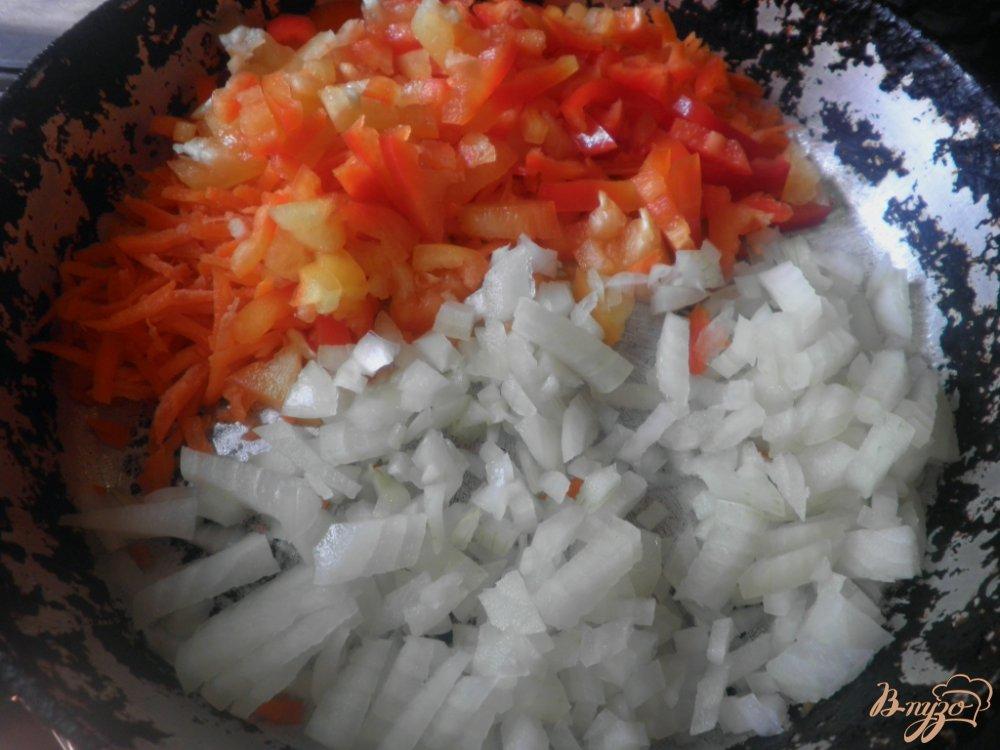 Фото приготовление рецепта: Гороховый суп шаг №7