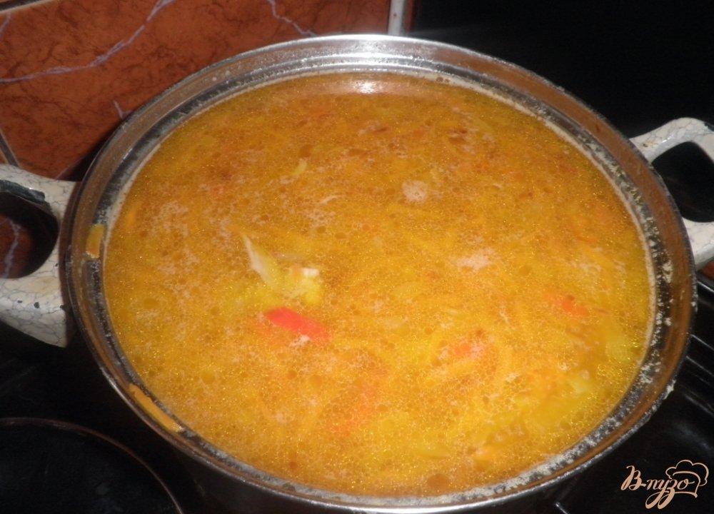 Фото приготовление рецепта: Гороховый суп шаг №8