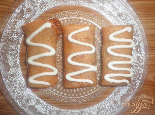 Рецепт Блинчики с гречневой кашей