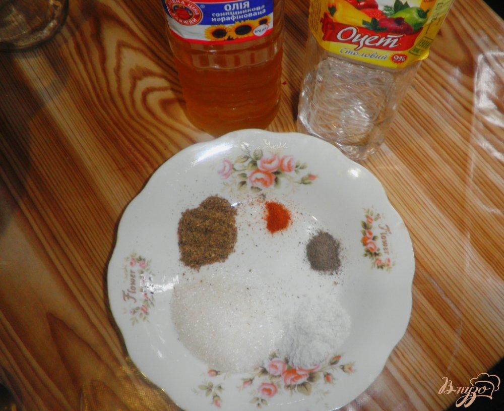 Фото приготовление рецепта: Свекла по-корейски шаг №3