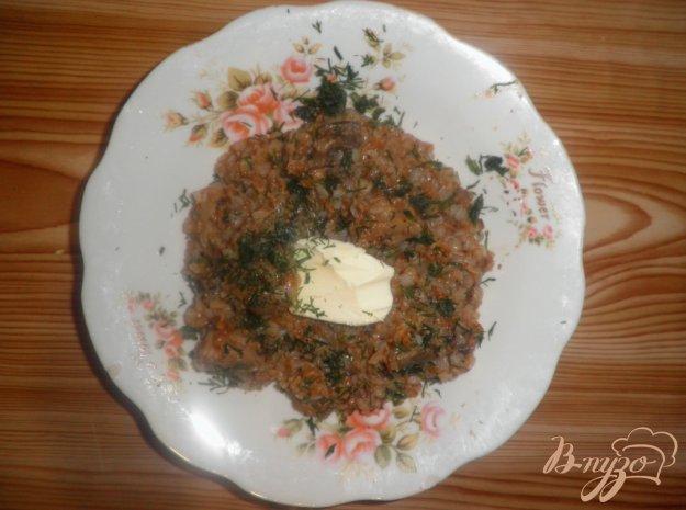 Рецепт Гречка с печенью