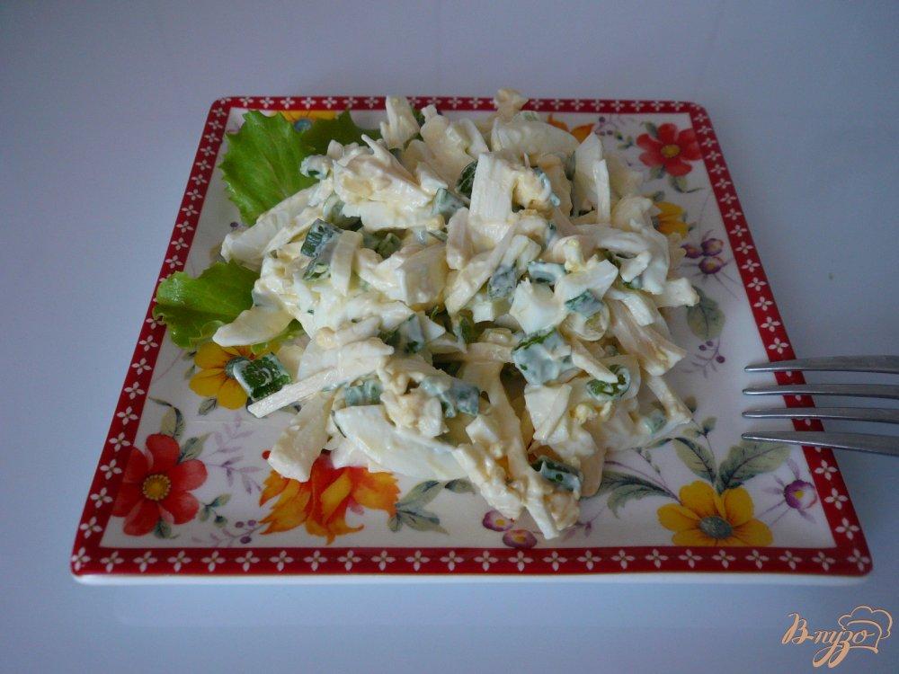 Фото приготовление рецепта: Салат к ужину шаг №5