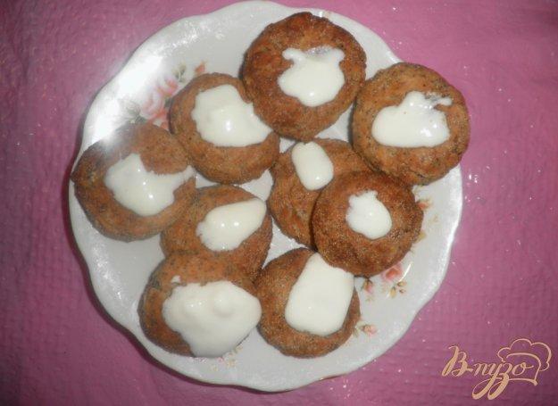 Рецепт Диетические сырники с овсянкой в духовке