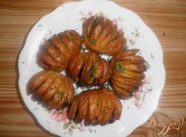 Рецепт Запеченный картофель с салом