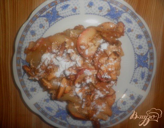Рецепт Пирог с овсянкой и яблоками