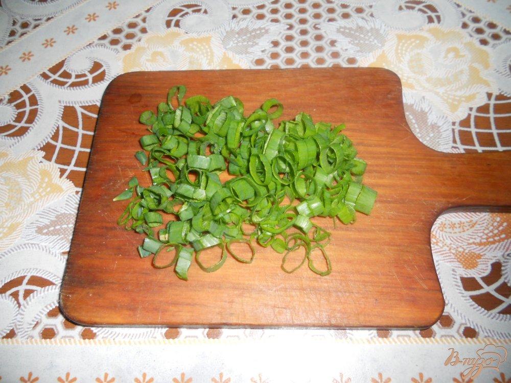Фото приготовление рецепта: Картофельное пюре с зеленым горошком шаг №6