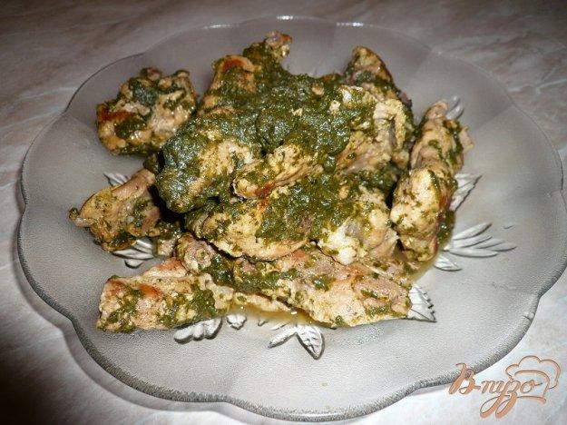 Рецепт Свиное рагу со шпинатом