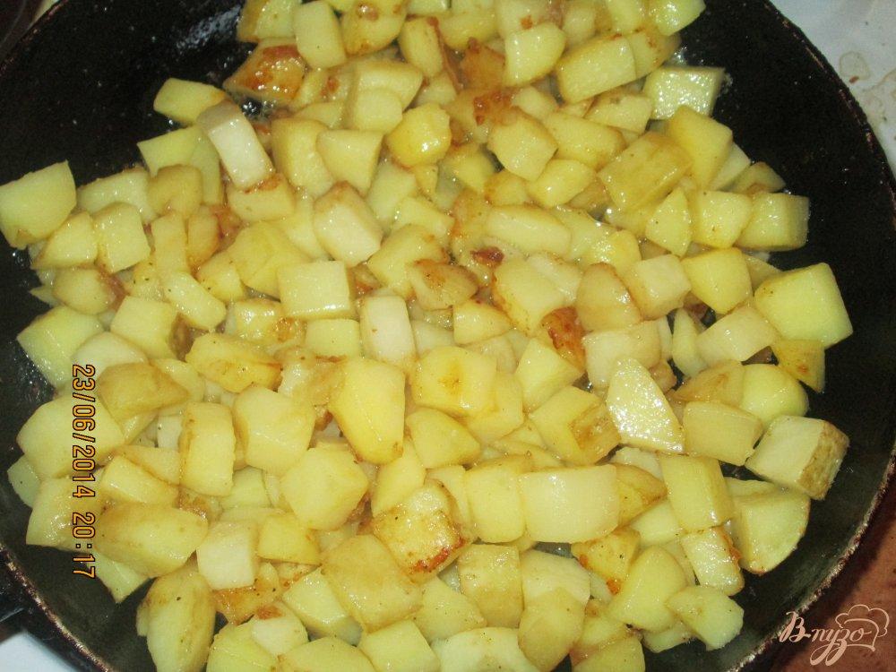 Фото приготовление рецепта: Овощное рагу шаг №2