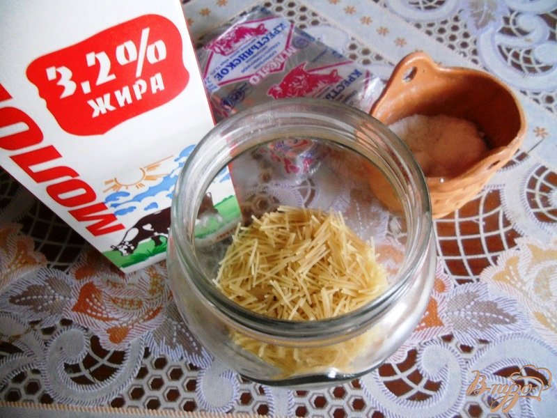 Фото приготовление рецепта: Молочный суп с вермишелью шаг №1