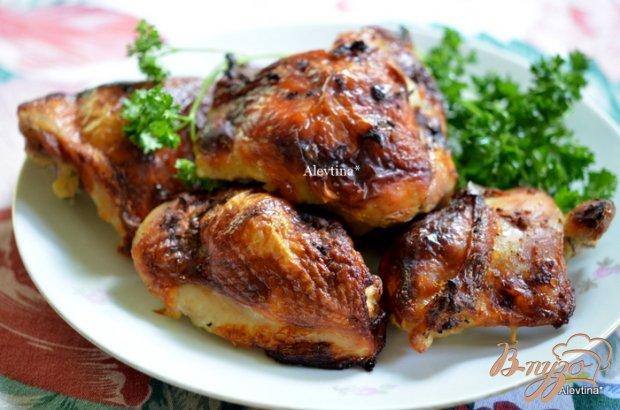 Куриные бедрышки в кефирном маринаде
