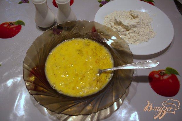 Отбивные с мятой , луком и сыром.