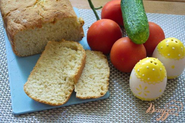 Хлеб с чесноком и луком в хлебопечке