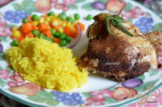 Курица в медленноварке со специями и розмарином