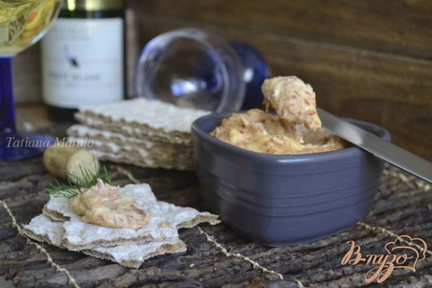 Закусочная паста с ветчиной и сыром